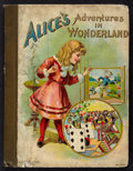 """Movie Posters:Children's, Alice's Adventures in Wonderland (Hurst & Company, ca. 1902). Cloth spine, chromo illustrated boards, 75pgs. (7.5"""" X 10""""). C..."""