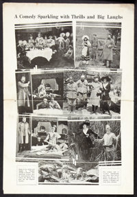 Yankee Doodle in Berlin Lot (Hiram Abrams, 1919). Heralds (2) (Multiple Sizes). Comedy. ... (Total: 2 Items)