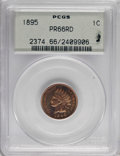 Proof Indian Cents, 1895 1C PR66 Red PCGS....