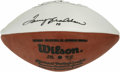 Football Collectibles:Balls, Terry Bradshaw Single Signed Football. Here we offer a Wilson football signed by the four time Super Bowl winner, Terry Bra...