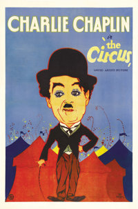 """The Circus (United Artists, 1928). One Sheet (27"""" X 41"""")"""