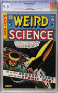 Golden Age (1938-1955):Science Fiction, Weird Science #5 Gaines File pedigree (EC, 1951) CGC NM/MT 9.8Off-white pages....