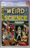 Golden Age (1938-1955):Science Fiction, Weird Science #15 (#4) Gaines File pedigree (EC, 1950) CGC NM+ 9.6Cream to off-white pages....