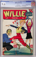 Golden Age (1938-1955):Humor, Willie Comics #5 Mile High pedigree (Marvel, 1946) CGC NM+ 9.6 White pages....