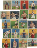 Boxing Cards:General, T218 and T220 Champions Boxing and Misc. Sports Group Lot of 105.Group consists of 94 (85 unique) cards from the T218 Champ...