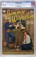 Golden Age (1938-1955):Western, Jimmy Wakely #6 Hawkeye pedigree (DC, 1950) CGC NM+ 9.6 Off-whiteto white pages....