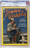 Golden Age (1938-1955):Western, Jimmy Wakely #2 Hawkeye pedigree (DC, 1949) CGC NM 9.4 Off-white towhite pages....