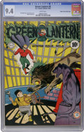 Golden Age (1938-1955):Superhero, Green Lantern #6 Mile High pedigree (DC, 1943) CGC NM 9.4 White pages....