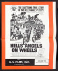 Movie Posters:Cult Classic, Hells Angels on Wheels Lot (U.S. Films Inc., 1967). Pressbooks (4)(Multiple Pages). Cult Classic.. ... (Total: 4 Items)