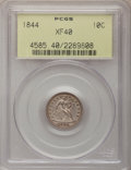Seated Dimes, 1844 10C XF40 PCGS....