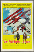 """Movie Posters:War, Von Richthofen and Brown (United Artists, 1971). One Sheet (27"""" X41"""") and Pressbook (Multiple Pages, 11"""" X 17""""). War.. ... (Total: 2Items)"""