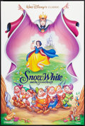 "Movie Posters:Animated, Snow White and the Seven Dwarfs (Buena Vista, R-1993). One Sheet (27"" X 40"") DS. Animated.. ..."