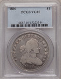 Early Dollars, 1800 $1 VG10 PCGS....