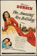 """Movie Posters:Comedy, The Amazing Mrs. Holliday (Universal, 1943). One Sheet (27"""" X 41""""). Comedy.. ..."""
