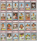 Baseball Cards:Sets, 1954 Bowman Baseball Complete Set (224) - #4 on the PSA SetRegistry Plus #66 Ted Williams. ...
