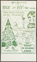 "Movie Posters:Children's, The Magic Christmas Tree (Holiday Pictures, 1964). One Sheet (27"" X 45""). Children's.. ..."