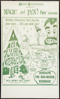 "The Magic Christmas Tree (Holiday Pictures, 1964). One Sheet (27"" X 45""). Children's"
