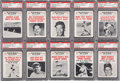 "Baseball Cards:Sets, 1961 Nu-Card ""Baseball Scoops"" High Grade Complete Set (80) - WithThirty-Seven PSA Gem MT 10 and Mint 9 Cards!..."