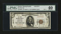 National Bank Notes:Pennsylvania, Exeter, PA - $5 1929 Ty. 1 The First NB Ch. # 13177. ...