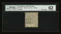 Colonial Notes:Connecticut, Connecticut October 11, 1777 3d Slash Cancel PMG Uncirculated62....