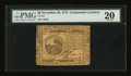Continental Currency November 29, 1775 $6 PMG Very Fine 20
