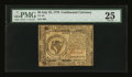 Colonial Notes:Continental Congress Issues, Continental Currency July 22, 1776 $8 PMG Very Fine 25....