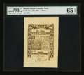 Colonial Notes:Rhode Island, Rhode Island May 1786 9d PMG Gem Uncirculated 65 EPQ....