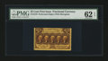 Fractional Currency:First Issue, Fr. 1279 25¢ First Issue PMG Uncirculated 62 EPQ....
