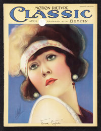 """Motion Picture Magazine (Brewster, 1925). Magazine (Multiple Pages, 9.5"""" X 12.25""""). Miscellaneous"""