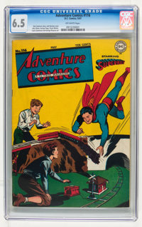 Adventure Comics #116 (DC, 1947) CGC FN+ 6.5 Off-white pages