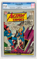 Silver Age (1956-1969):Superhero, Action Comics #252 (DC, 1959) CGC VF- 7.5 Cream to off-white pages....
