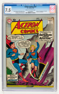 Action Comics #252 (DC, 1959) CGC VF- 7.5 Cream to off-white pages