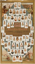 "Non-Sport Cards:Singles (Pre-1950), 1887 G20 Allen and Ginter ""The World's Champions"" AdvertisingBanner. ..."