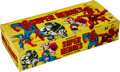 """Non-Sport Cards:Unopened Packs/Display Boxes, 1966 Donruss """"Marvel Super Heroes"""" Counter Display Box ..."""