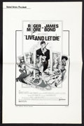"""Movie Posters:James Bond, Live and Let Die (United Artists, 1973). Pressbook (Multiple Pages, 11"""" X 17"""") and Production Notes (Multiple Pages, 8.5"""" X ... (Total: 2 Items)"""