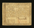 Colonial Notes:Rhode Island, Rhode Island July 2, 1780 $7 Fully Signed Extremely Fine....