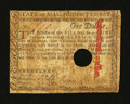 Colonial Notes:Massachusetts, Massachusetts May 5, 1780 $1 Fine....