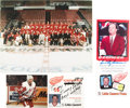 Hockey Collectibles:Photos, Detroit Red Wings Signed Collection - From Jimmy SkinnerCollection....