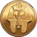 Egypt, Egypt: Republic gold 100 Pounds 1986 AH1406, ...