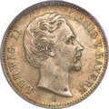 German States:Bavaria, German States: Bavaria. Ludwig II 2 Mark 1876D,...