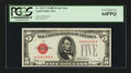 Small Size:Legal Tender Notes, Fr. 1527* $5 1928B Legal Tender Note. PCGS Very Choice New 64PPQ.. ...