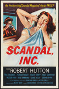 "Movie Posters:Crime, Scandal, Inc. (Republic, 1956). One Sheet (27"" X 41""). Crime.. ..."