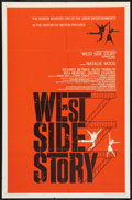 "Movie Posters:Musical, West Side Story (United Artists, 1961). One Sheet (27"" X 41"").Musical.. ..."