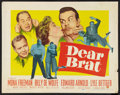 "Movie Posters:Comedy, Dear Brat (Paramount, 1951). Half Sheet (22"" X 28""). Comedy.. ..."