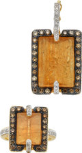 Estate Jewelry:Suites, Topaz, Colored Diamond, Diamond, Gold Jewelry Suite, Robert Wander. ... (Total: 2 Items)