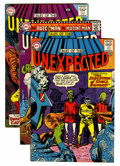 Silver Age (1956-1969):Horror, Tales of the Unexpected Group (DC, 1958-73) Condition: AverageGD/VG.... (Total: 27 Comic Books)