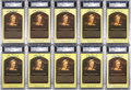 Baseball Collectibles:Others, Bob Doerr Signed Hall of Fame Postcards Lot of 10....