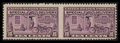 Stamps, 10c Gray Violet (E15c),...