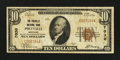 National Bank Notes:Kentucky, Pikeville, KY - $10 1929 Ty. 1 The Pikeville NB Ch. # 7030. ...