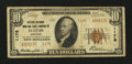 National Bank Notes:New York, Fulton, NY - $10 1929 Ty. 2 The Citizens NB Ch. # 1178. ...